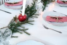 JULDUKNING ♡ xmas table setting