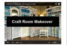 Home Decor and Organziation - Craft rooms