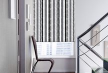 Blinds : Black & White / Contemporary look with majestic black & white blinds