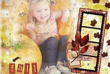 Jennifer Tough Studio Layouts / Layouts made from my digital scrapbooking and art journaling products / by Jennifer Tough