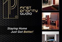 Audio Company Branding / Professional audio, lighting, and automation devices