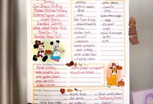 Thanksgiving at home - Disney style / Celebrate Thanksgiving by showing your Disney side! Add a few creative Mickey & Minnie touches while sharing what you are thankful for!