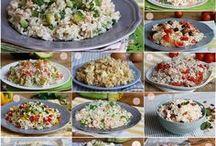 insalate di riso.