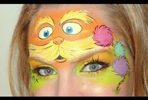 maquillage personnages
