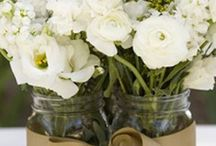 Wedding flowers & decor / by JenniLee from Once When I Was
