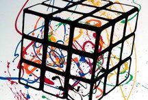 Arte con Rubik