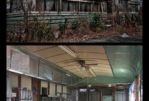 Abandoned / Abandoned buildings and places