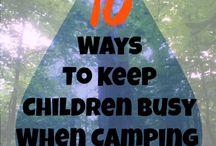 Kamperen / Ideeen voor op de camping