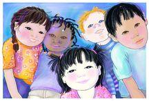 Diversity in KidLit / Picture of multi-cultural children