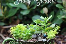 Fairy Gardens / Whimsical gardens, flower gardens, fairy gardens