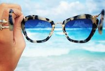 STYLE | SUNNIES / Sunglasses and eyewear I covet - such a sunglass addict  / by Katie Ladrido