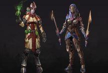 Mass Effect / Dragon age