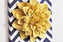 Navy and yellow / by Christy Joyner Cooley