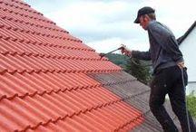 Witte (lichte) daken - white rooftops / Witte daken helpen bij het koel houden van het huis. Simpele oplossingen.