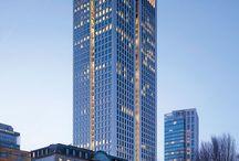 Opernturm Frankfurt von Christoph Mäckler Architekten / #Natursteinfassaden #Naturstein #Hofmannnaturstein