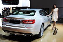 Maserati Quattroporte / Car to live in