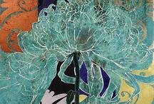 Blumen, abstrakt