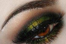 Colours of make up