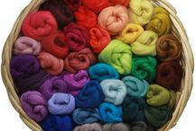 Merino Wool Roving / Our merino wool roving is a great choice for wet felting, needle felting, and nuno work. It is super soft, felts quickly, and has a fantastic smooth finished surface.  Plus it comes in over 100 colors.