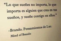 BRANDO.PENSAMIENTOS DE LUC