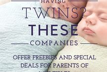 Twins / Carrying a twin pregnancy and caring for twin babies.