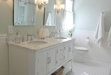 Bathroom Ideas / by Leigh Anne, YourHomebasedMom