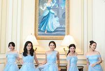 Brides maid gaun
