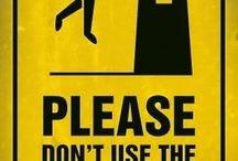 funny warnings