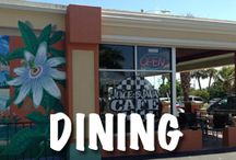 Places to Eat in Cocoa Beach / Check our blog to find the best places to eat in Cocoa Beach!