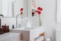 pasta para fotos de armario de banheiro