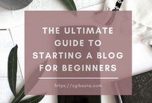 HOW TO START A BLOG / Are you thinking of starting a blog but don't know where to start? Here are the best articles with tips on how to start a blog, how to get page views, how to grow your audience, write content, how to use social media, how to start an email list, and more!