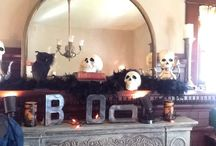 Halloween Decor by Meredith Mackenzie Designs / Everything you need to get spooky this Halloween including, ideas, inspiration and product. Visit our Facebook page, Meredith Mackenzie Designs, to see more.
