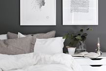 home decoration - grey & wood