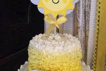 first birthday - sunshine
