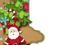 Borders Christmas