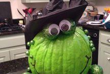 Pumpkin crafts