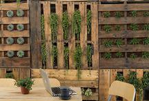 Outdoor wall