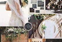 Wedding: Color Palettes / Hochzeit: Farbinspirationen / Farbinspirationen für Hochzeiten