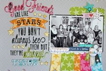 Scrapbook ideas / Ideas, inspiration and layouts!