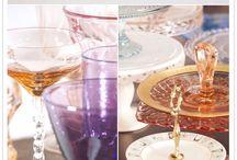 Glass,  Pottery, Ornaments and Pretty bits!