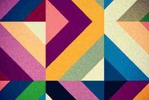 Let's Tessellate / colour/interlocking shape/tessellate