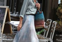long skirt . langer rock