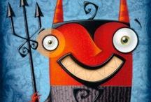 DEVIL & DEMONS / Demons, Devils and other Underworld creatures.