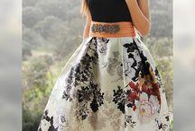 faldas vestir