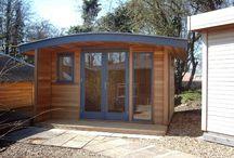 Garden outhouse