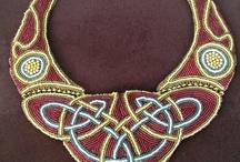 beadwork/feathers/fabric