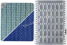 Punch cards and machine lace