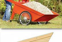 Wheelbarrow DIY