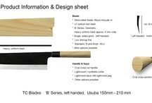 TC Blades product information and design sheets