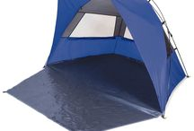 Beach Tent / Is intended to shield against the burning sun rays and the sand pick up by the wind